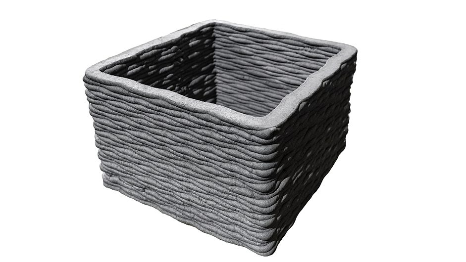 вазон из 3d бетона
